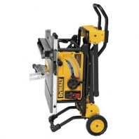 DEWALT 10 in. Jobsite Table Saw with Rolling Stand1
