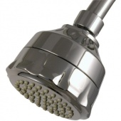 Water Sense Single-Spray Filtered Showerhead in Chrome