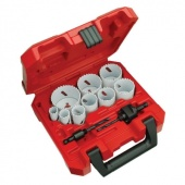 Milwaukee Ice Hardened Bi-Metal Hole Saw Kit (13-Piece)
